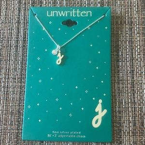 BNWT Initial Necklace